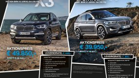 BMW X1 / BMW X3 Sonderaktionsmodell
