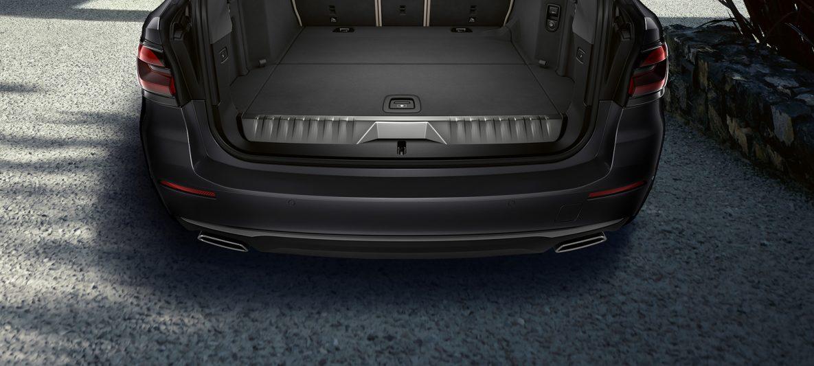 Kofferraum BMW 5er Touring G31 Facelift 2020 Sophistograu Nahaufnahme