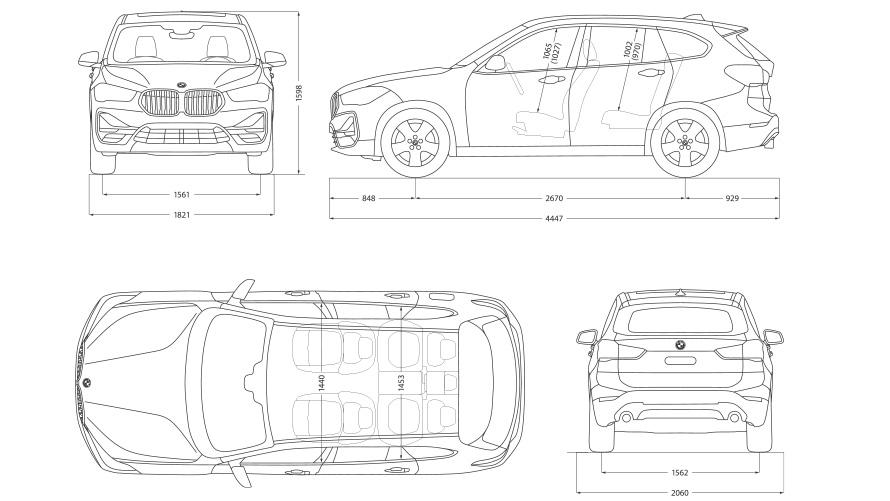 Technische Daten BMW X1