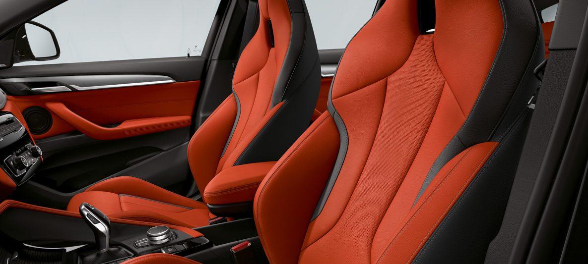 M Sportsitze BMW X2 M35i F39 Innenraum