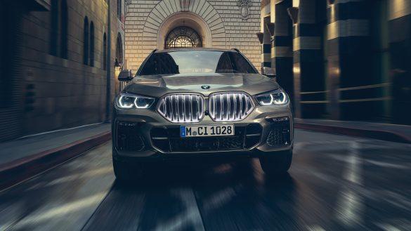 BMW X6 Niere 'Iconic Glow'