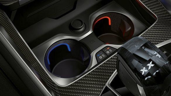 BMW X6 Temperierte Getränkehalter