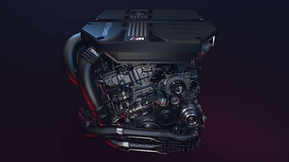BMW X3 M High-Performance M TwinPower Turbo Reihen-6-Zylinder Benzinmotor