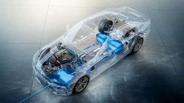 BMW 5er TouringPlug-In Hybrid Energiemanagement