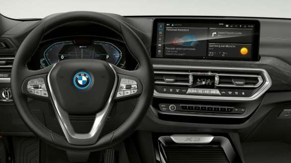 BMW X3 G01 BMW Live Cockpit Plus 2021