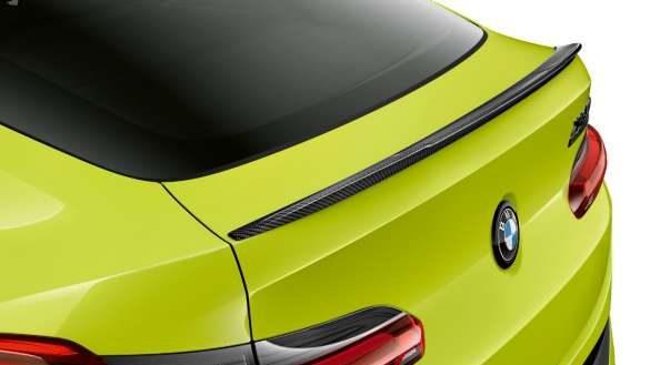 BMW X4 M Competition F98 LCI Facelift 2021 M Carbon Heckspoiler